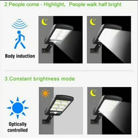 Lampa solarna uliczna z czynnikami