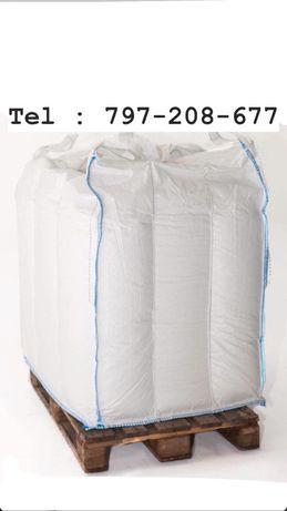 Worek BIG BAG MAG mocne bigbagi na zboze 80/100/116 cm