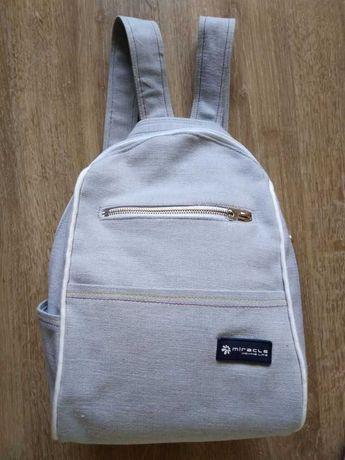 Стильный джинсовый городской рюкзак Miracle . В наличии.