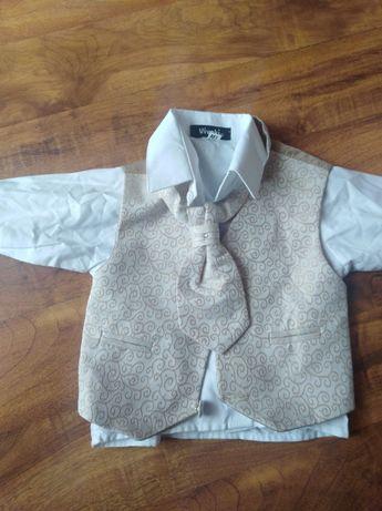 Elegancka koszula z musznikiem