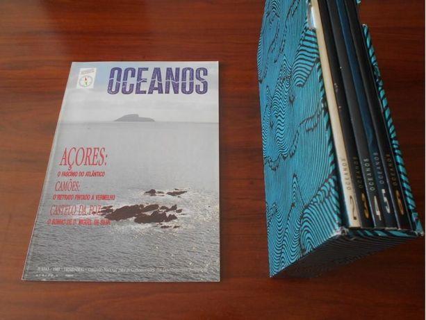 Magnífica coleção NOVA e COMPLETA da Revista Oceanos (N.º 1 a 49)