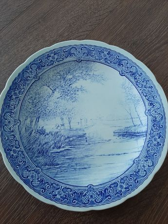 Фарфоровая тарелка пано