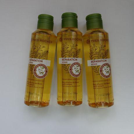 Восстанавливающее масло д. сухих и кудрявых волос ив роше yves rocher