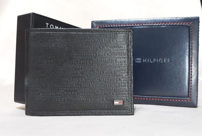 TOMMY HILFIGER Meski Portfel RFID Oryginalny Skorzany w Pudelku