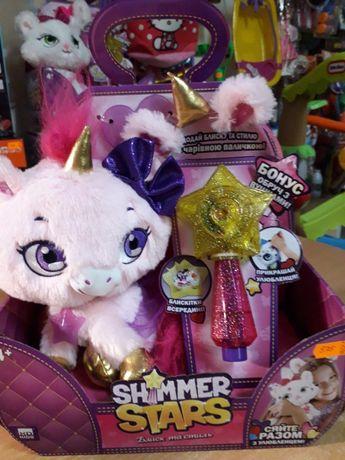 Единорожек, котёнок,мягкая игрушка для девочек