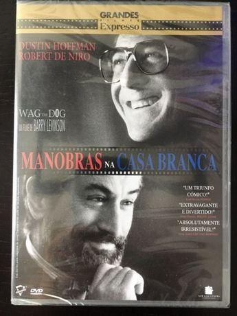 DVD Filme Manobras na Casa Branca