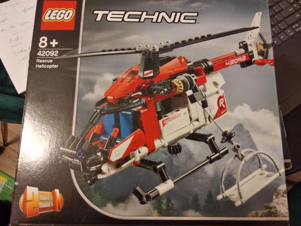 NOWY Lego Technic Helikopter ratunkowy 2w1 42092