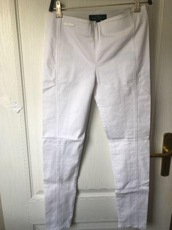Ralph Lauren jeansowe jegginsy biel 38