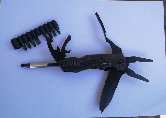 Multitool scyzoryk survival Multi tool nóż pomysł na prezent