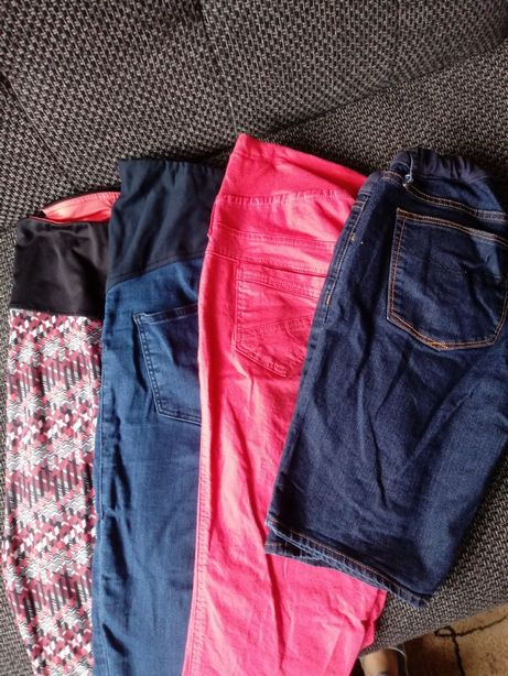 Spodnie ciazowe M 4 szt
