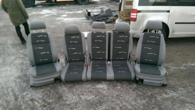 оригинальный салон сидения на vw caddy кадди 2010г.