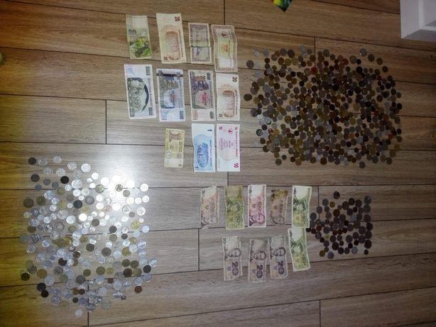 Monety polskie i zagraniczne okolo 3 ty szt