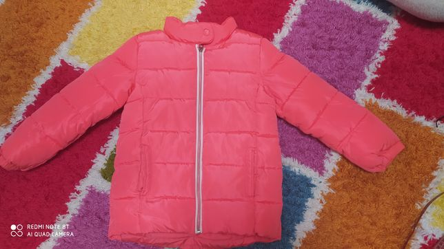 Курточка h&m зимняя на девочку