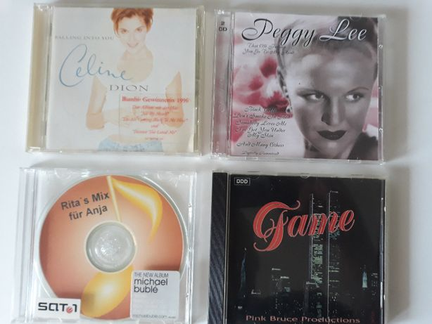 Płyty CD: Peggy Lee, Fame, Celine Dion