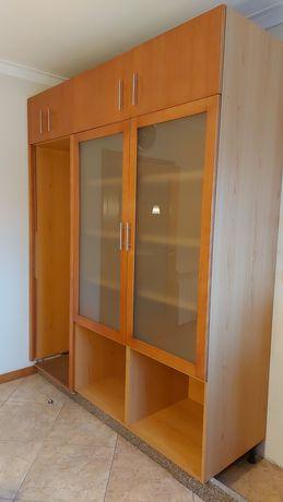 Movel de Cozinha com 2 módulos (frigorífico e louceiro)