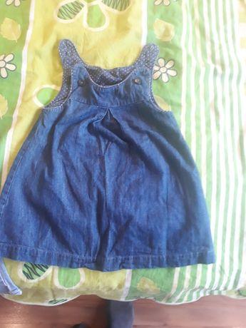 Sukienka H,M i spodnie