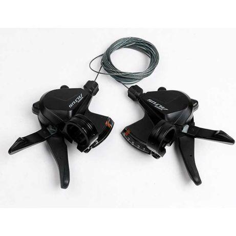 Манетки Shimano Altus SL-M2000, 3x9 RapidFire Plus