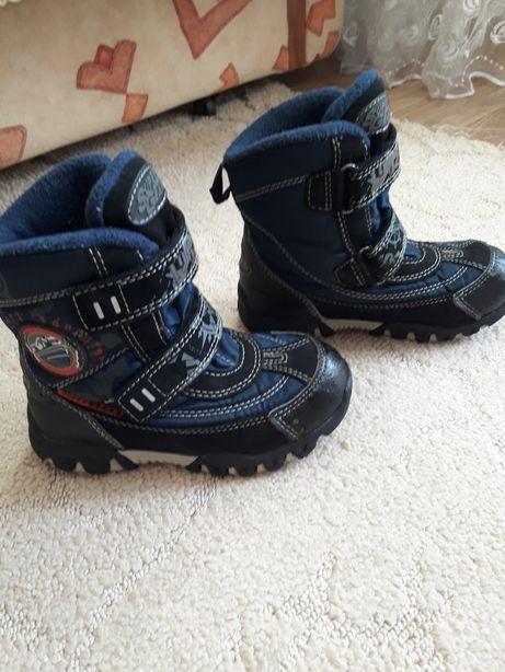 Термо ботинки для мальчика р.28
