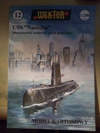 "Model kartonowy USS ""Nautilus"""