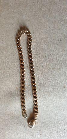 Złota bransoletka pancerka ,8,9 gr , pr.333 dł. 20 cm