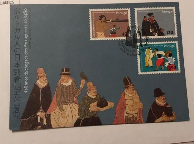 SELOS - Portugal - 450 anos da chegada dos portugueses ao Japão