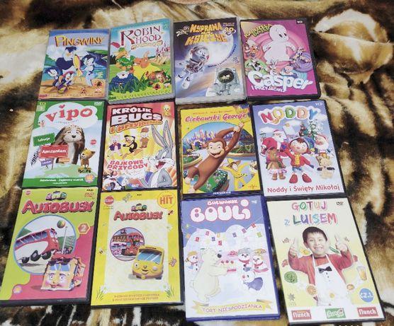 Filmy dla dzieci na płytach DVD
