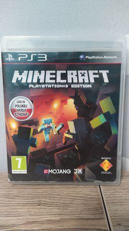 Gra Minecraft j. Polski na konsole ps3 playstation 3