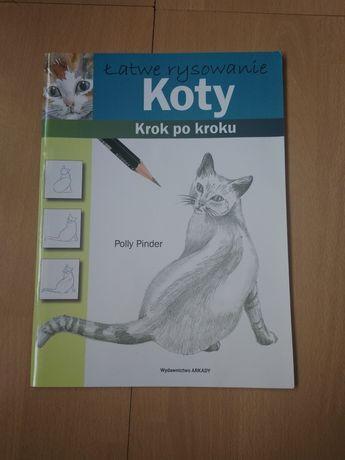 książka do rysowania krok po kroku koty