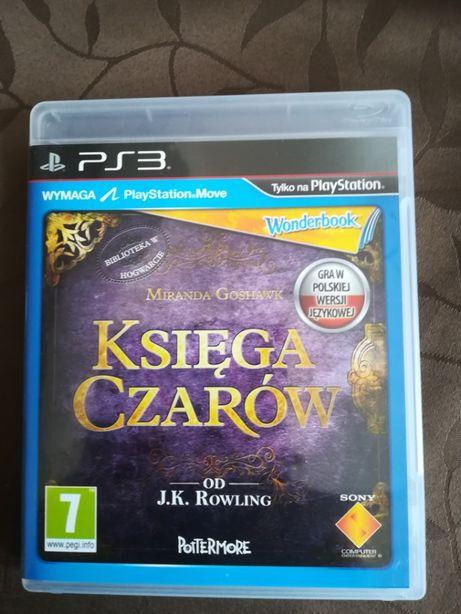 """gra na play station Ps3 WONDERBOOK """"Księga czarów"""" J.K. ROWLING"""