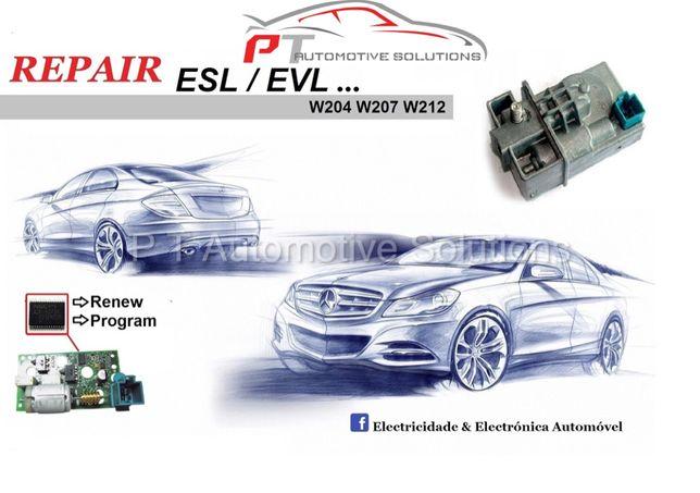 Reparação Trancas de Direcao Mercedes ESL / ELV W204 W207 W212