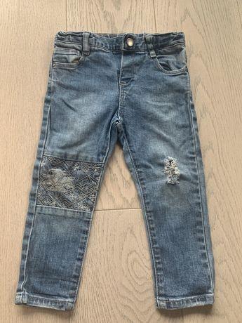 Spodnie jeansowe / jeansy Zara r92