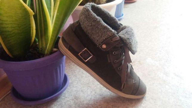 Высокие утепленные кеды, ботинки Ricosta