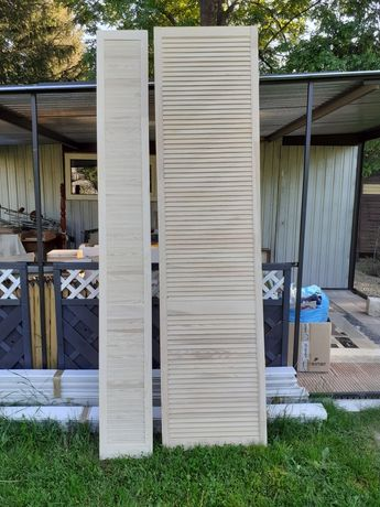 Drzwi ażurowe wys 242 cm