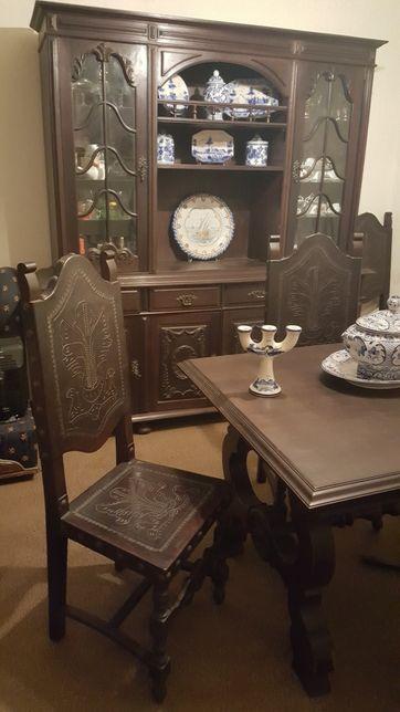 Mobilia sala estar e jantar