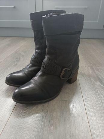 Деми ботинки Clarks, оригинал, кожа, 38 размер