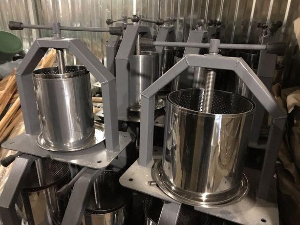 Пресс для сока (10 и 15л), соковыжималка (Хлебпром) нержавейка.