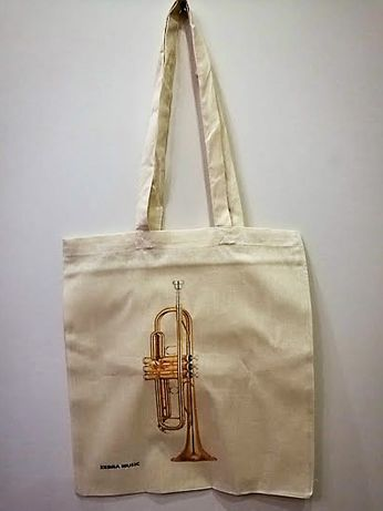 Muzyczna torba na zakupy różne wzory