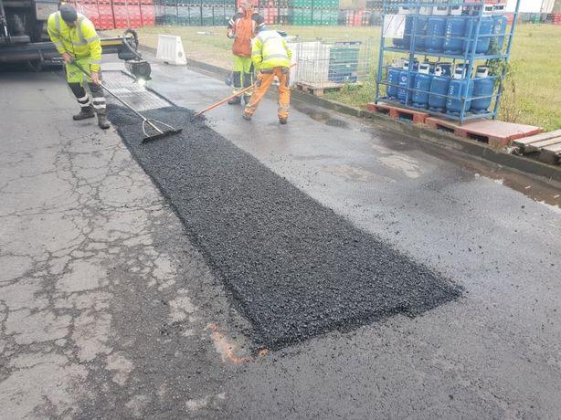Asfaltowanie Łatanie dziur, naprawa asfaltu, Katowice śląsk