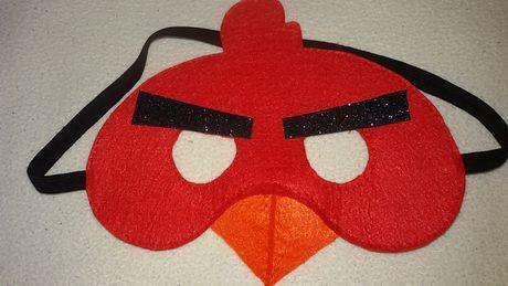 Продам маску Енгрі Бьордс(Red)