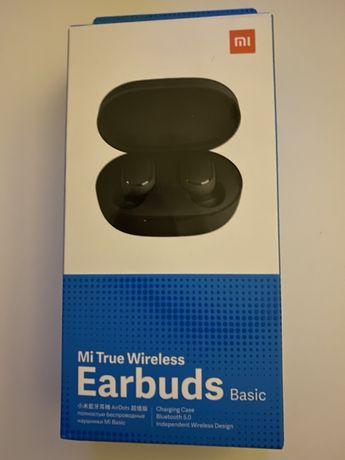 Xiaomi earbuds basic roczne idealny stan komplet