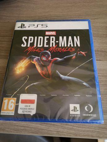 Spider-Man miles morales na ps5