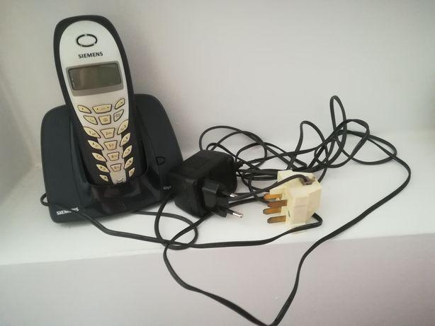 Telefon stacjonarny przenośny siemens