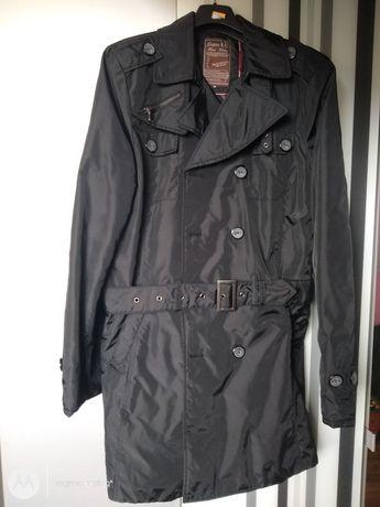 Męski modny płaszcz casual jesień/wiosna