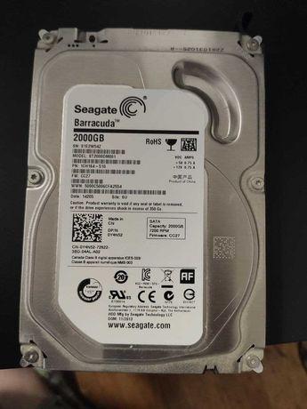 HDD Жесткий диск Seagate Barracuda 2TB (2000GB) (ST2000DM001)