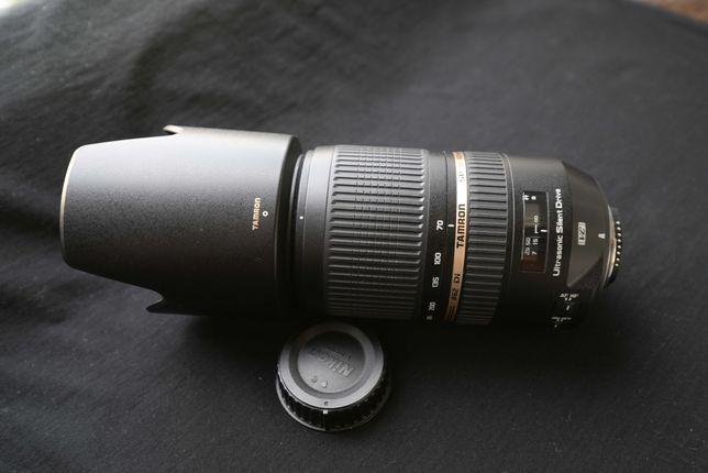 Tamron  SP 70-300  f 4.0-5.6  USD  VS  for Nikon