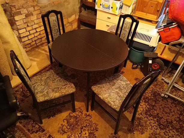 Stół i krzesła 4 sztuki