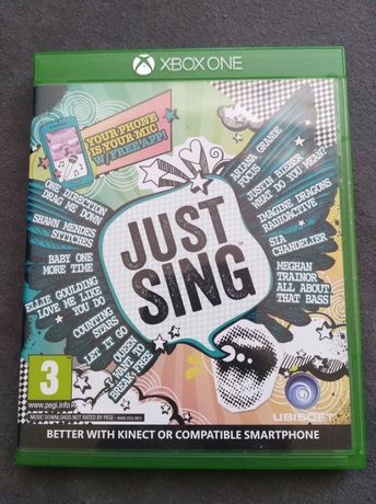 Just Sing gra na Xbox one