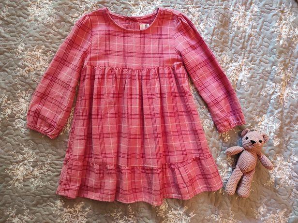 Теплое платье lc waikiki 4-5