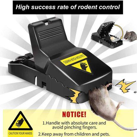 Ratoeira muito prática para captura de ratos de maior porte.