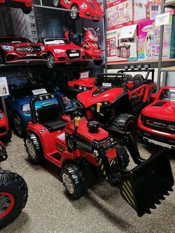 Traktor Koparka z łyżką na akumulator dla Dzieci pilot Odbiór Wysyłka